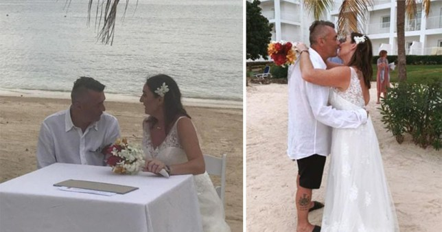 Andy Helson and Heidi Brown say they had their dream wedding turn into a nightmare due to staff mistakes