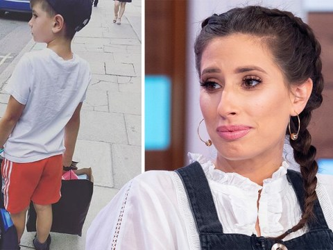 Stacey Solomon worried youngest son would feel 'pushed out' when she fell pregnant with Rex