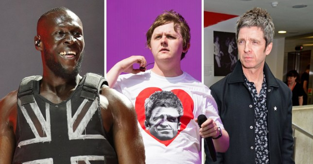 Stormzy on feud between Noel Gallagher and Lewis Capaldi