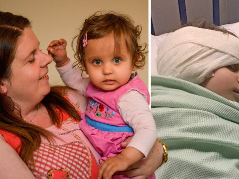 Baby girl with abscess on brain 'sent home with antibiotics for ear infection'