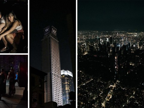 New York plunged into darkness as fire causes Manhattan blackout