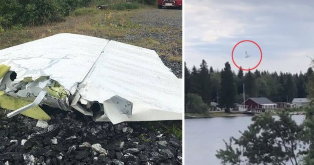 Nine people have died in a plane crash in Sweden