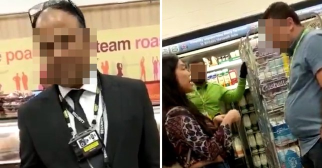 Shopper angry at response to abuse