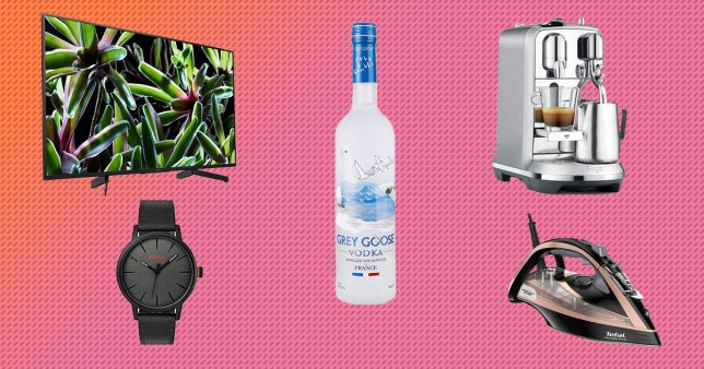 TV, vodka, watch, coffee making and iron on Amazon Prime Day sale