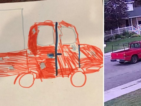 Cops hope little girl's drawing will help catch package thieves