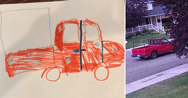 Cops hope little girl's drawing will help catch crooks