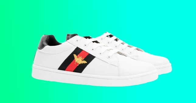 Poundland is selling a £445 Gucci trainer dupe for £9