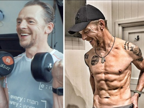 Simon Pegg's personal trainer reveals how he achieved that shredded body – but it's 'not maintainable'