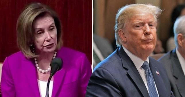 Trump senate Nancy Pelosi