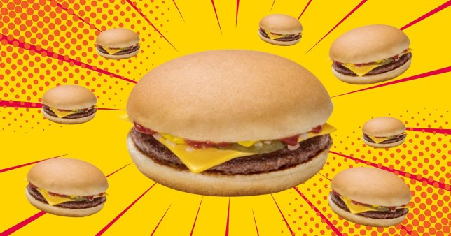 McDonald's is giving away free cheeseburgers