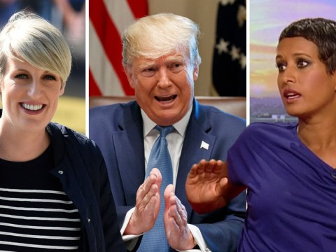 Steph McGovern throws support behind Naga Munchetty's execution of Trump's racist tweets as she's told 'to go home'