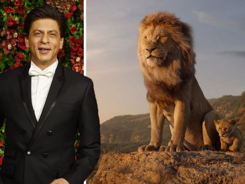 Bollywood star Shah Rukh Khan has watched The Lion King 40 times as he lends voice to Hindi version