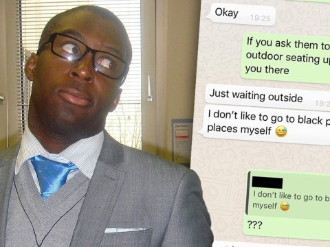 White woman tells black Tinder date she doesn't like going to 'black places'