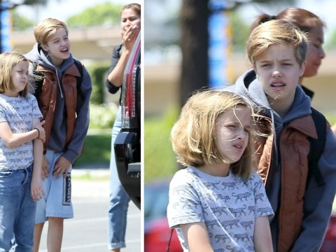 Shiloh and Vivienne Jolie-Pitt enjoy girls day out as they make the most of summer holidays