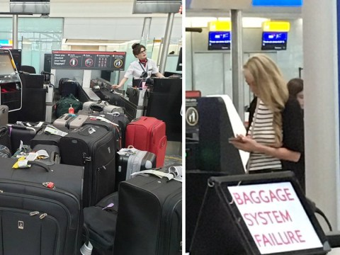 Holiday flight chaos as Heathrow baggage system breaks down