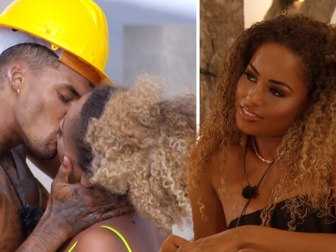 Love Island bosses accidentally block Michael Griffiths from kissing Amber Gill and it's TV gold