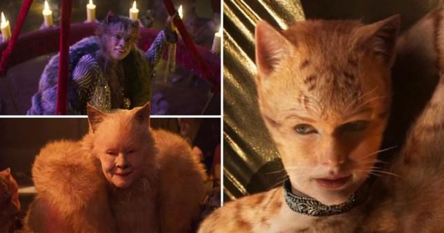 Caption: Cats trailer