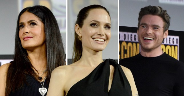 First footage of Marvel's The Eternals shown and teases Angelina Jolie as a blonde