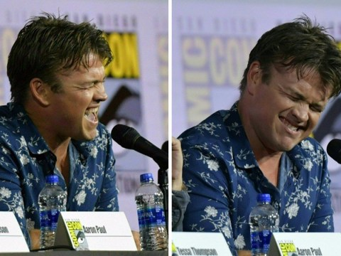 Luke Hemsworth steals San Diego Comic Con as he blasts out Jeff Buckley after storming Westworld 3 panel