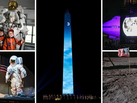 How the world celebrated the 50th anniversary of the moon landing