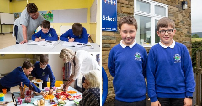 Bleasdale Church of England Primary had just one child in year four and another in year six this entire academic year.