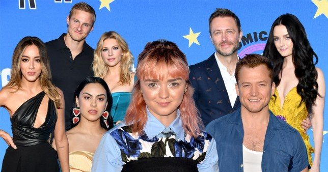 Game Of Thrones' Maisie Williams joins Riverdale cast at star-studded Comic Con party