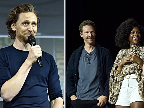 Tom Hiddleston blesses Comic Con with his presence to talk time-travelling Loki spin-off
