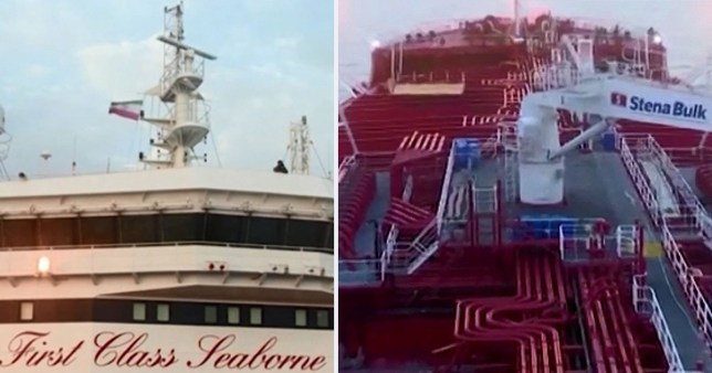 Iranian flag hoisted over seized British tanker | Metro News