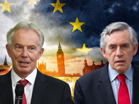 Tony Blair and Gordon Brown unite to warn against 'catastrophic' no-deal Brexit