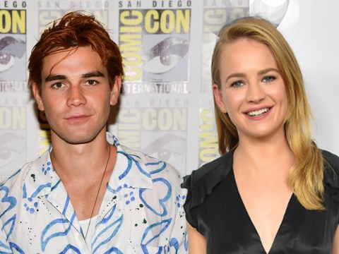 KJ Apa and Britt Robertson spotted 'kissing and holding hands' at Comic-Con party