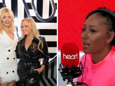 Mel B claims Emma Bunton and Holly Willoughby once 'snogged' on a night out