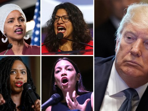 Trump says congresswomen he posted racist tweets about are 'very racist'