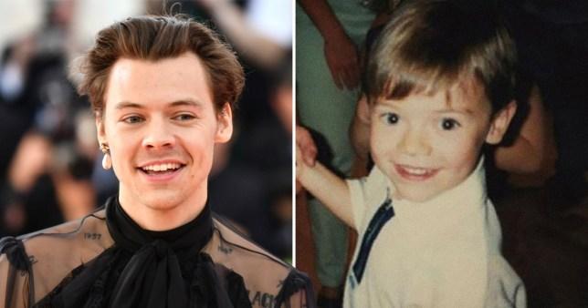 Harry Styles baby pic
