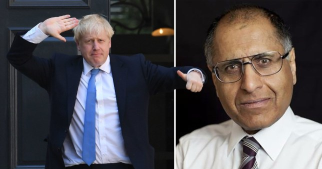 Mr Amin says he is resigning after Boris Johnson's 'lack of regard for the truth' and 'moral unfitness' to be prime minister