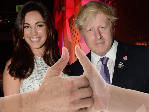 Kelly Brook rescued Boris Johnson after new Prime Minister dislocated thumb while losing at thumb wars