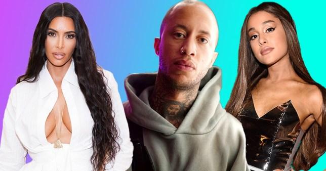 Kim Kardashian, Marcus Hyde, Ariana Grande