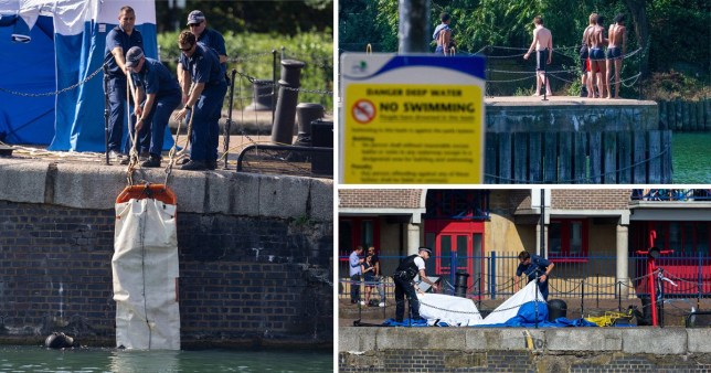 Body is pulled from the River Thames
