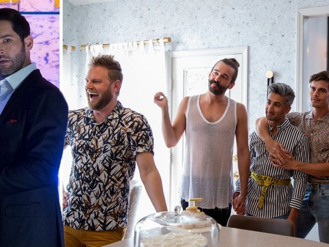 Lucifer's Tom Ellis proves even the devil can't help but cry over Queer Eye