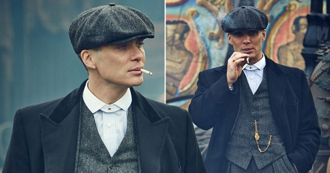 Caption: Peaky Blinders smoked more than 1000 cigarettes while filming the last season Provider: BBC