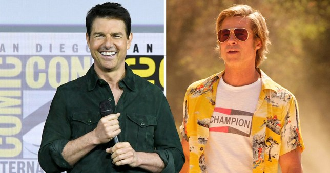 Tom Cruise was almost cast instead of Brad Pitt in Once Upon A Time In Hollywood