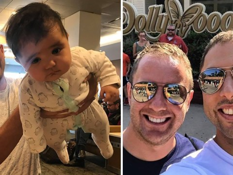 Gay couple denied US visa for baby born through British surrogate