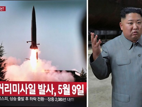 North Korea shoots two missiles at the sea to try and scare US