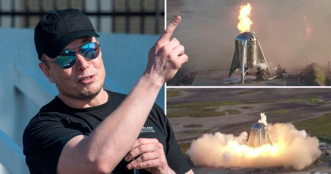 Elon Musk's SpaceX Starship launch test goes badly wrong