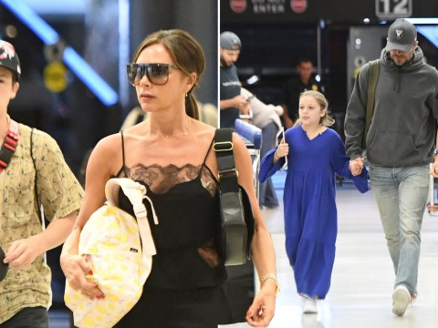 The Beckhams have holiday blues as they return from lavish Miami vacation