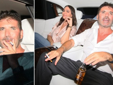 Simon Cowell celebrates Britain's Got Talent: The Champions filming with a 'skinny lager'