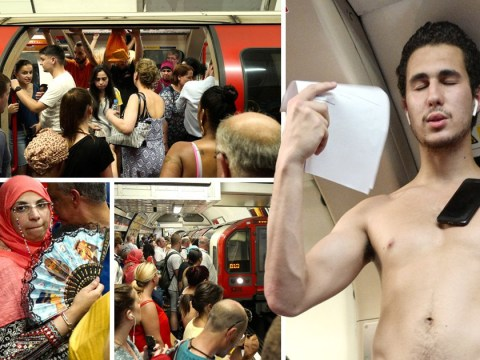 We went to the London Underground to see how hot everyone was