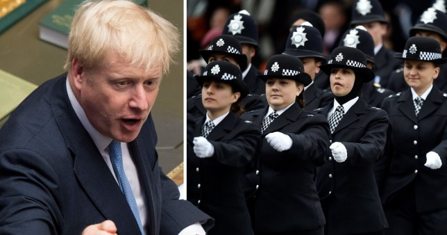 Boris Johnson wants recruit thousands more police officers to make the UK safer