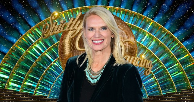 Anneka Rice Strictly