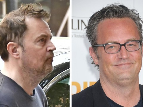 Friends star Matthew Perry shows off new darker 'do after worrying fans with health issues