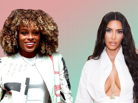 Fleur East managed to blag her way into Kim Kardashian's party – and we are jealous
